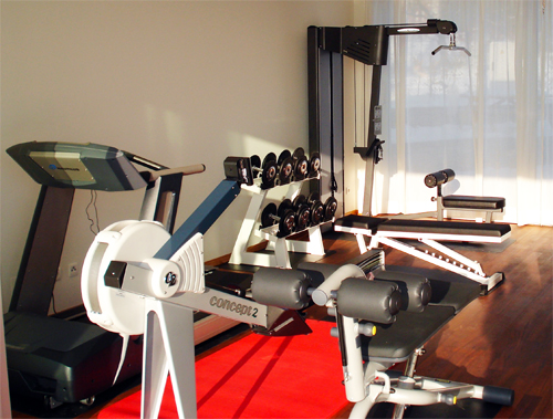 Privater Fitnessraum in Graz